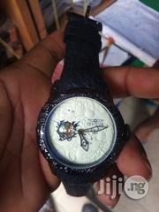 Invicta Mens Black Rubber Wristwatch   Watches for sale in Lagos State, Surulere