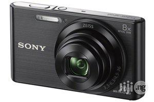 Sony DSCW830/B 20.1 MP Digital Camera With 2.7-Inch LCD (Black) | Photo & Video Cameras for sale in Lagos State, Ikeja