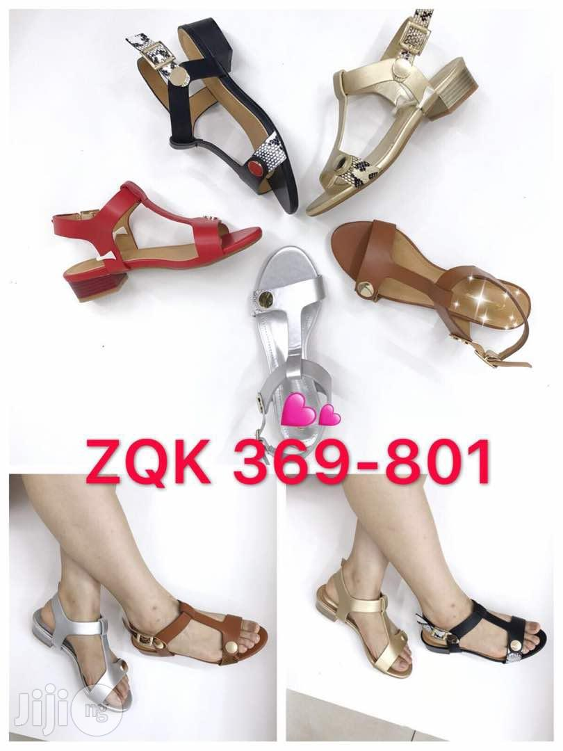 Classic Block Heel Sandals | Shoes for sale in Surulere, Lagos State, Nigeria