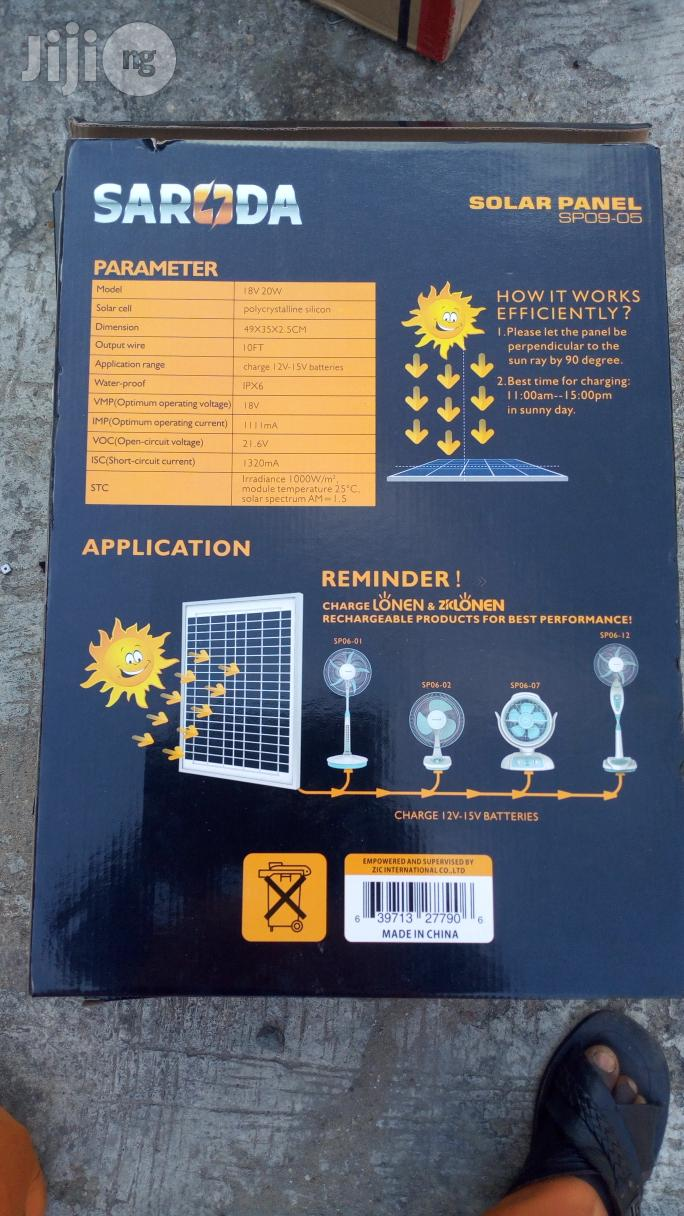 20W Solar Panel | Solar Energy for sale in Ojo, Lagos State, Nigeria