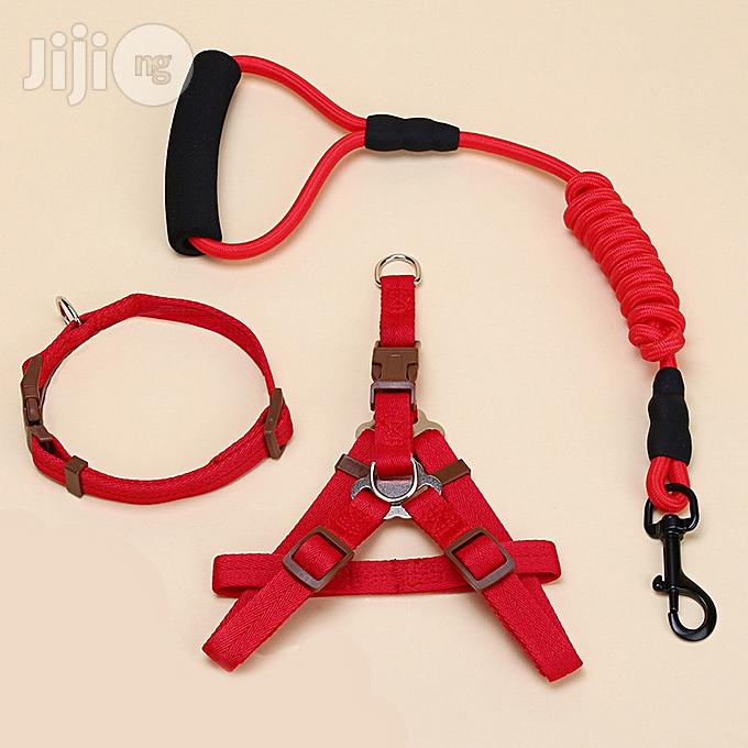 Dog Harness Leash Leads Dog-collar (3 In 1) Fit For Weight: 15-35kg