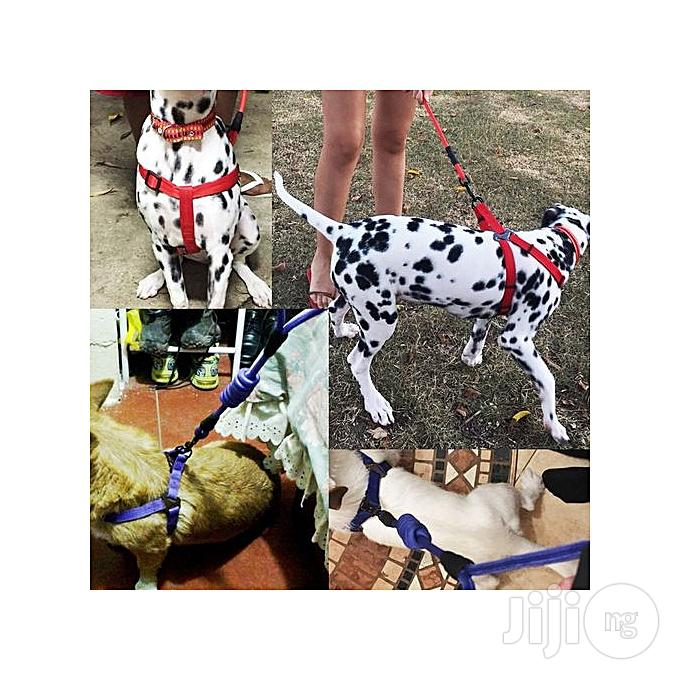 Dog Harness Leash Leads Dog-collar (3 In 1) Fit For Weight: 15-35kg | Pet's Accessories for sale in Maitama, Abuja (FCT) State, Nigeria