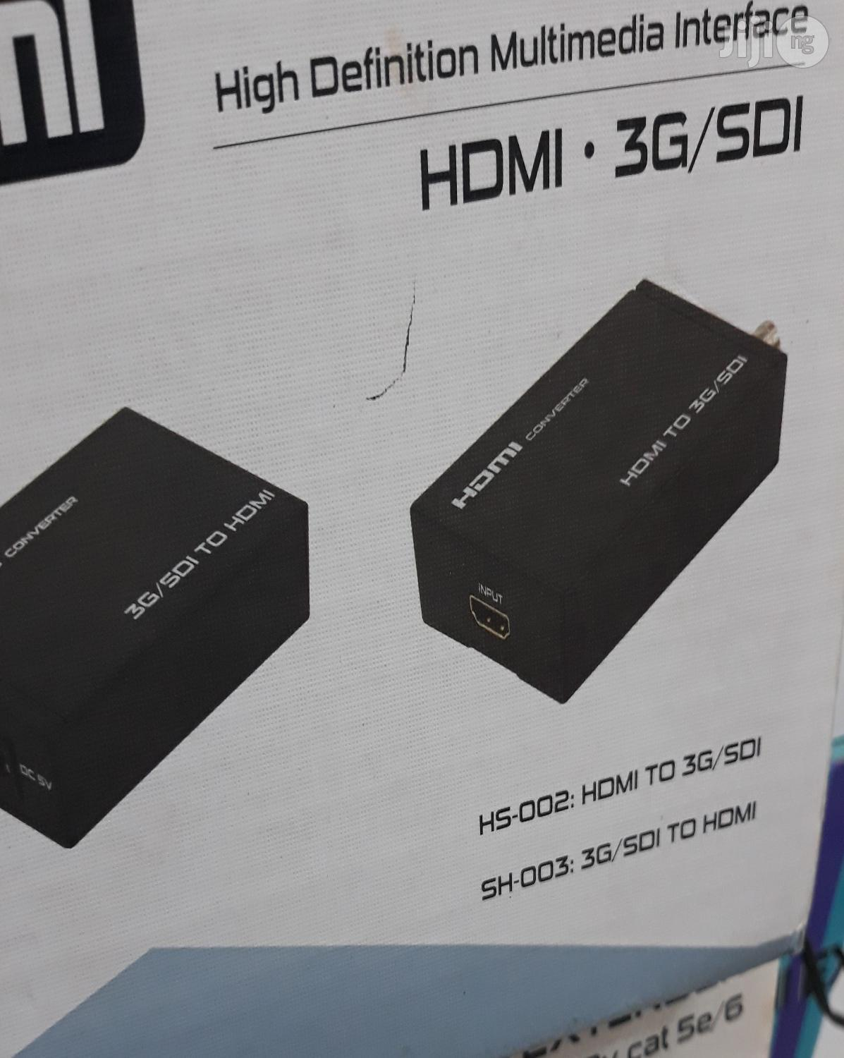 HDMI To Sdi Converter | Accessories & Supplies for Electronics for sale in Ikeja, Lagos State, Nigeria
