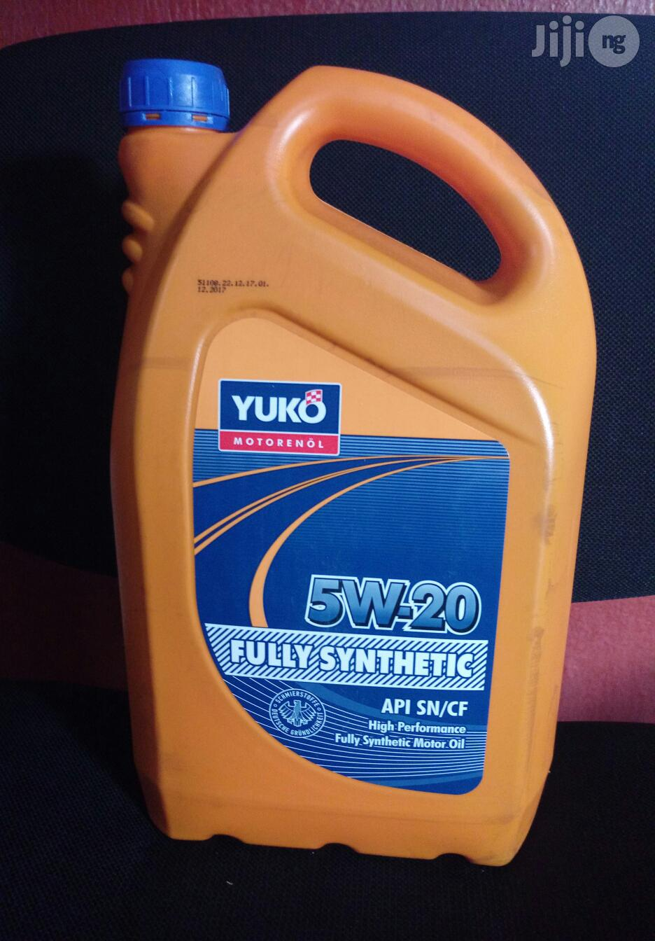 Archive: Fully Synthetic 5W-20 & 5W-30 5liters Oil+ Filer