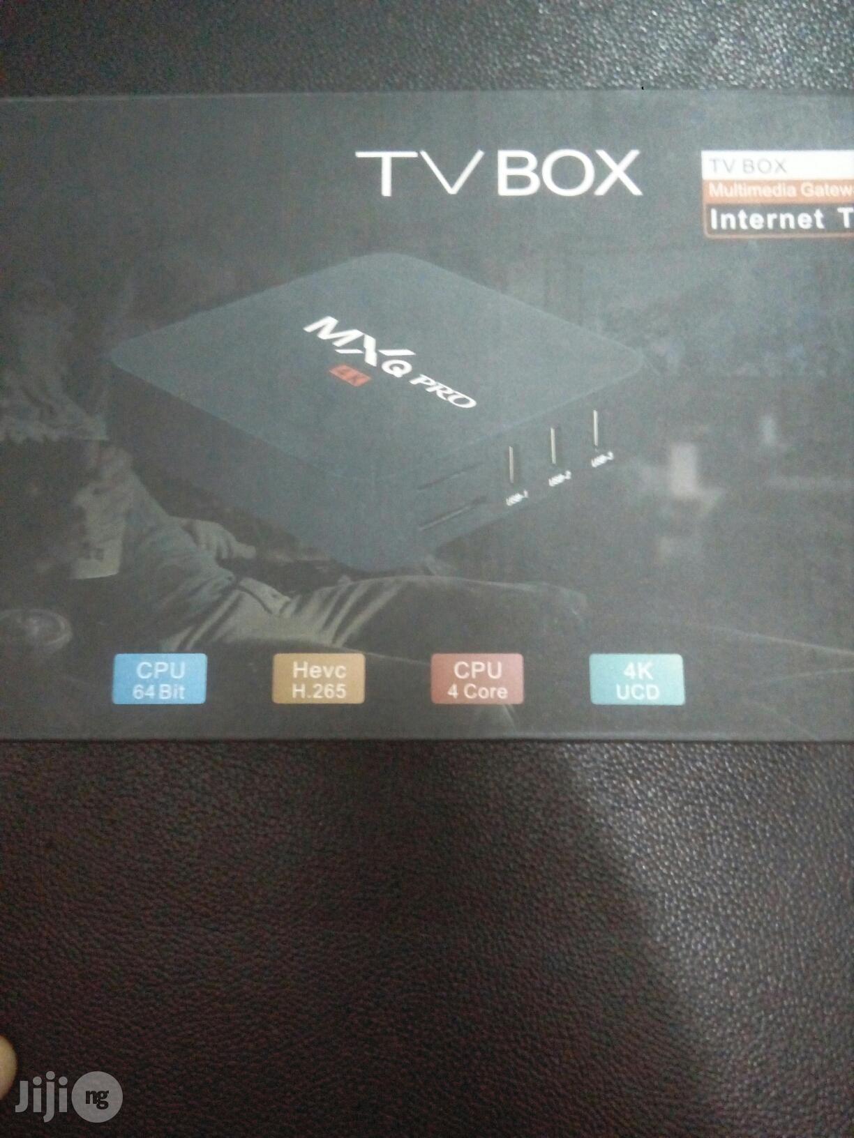 MXQ Pro 4K Smart TV Box | TV & DVD Equipment for sale in Ikeja, Lagos State, Nigeria