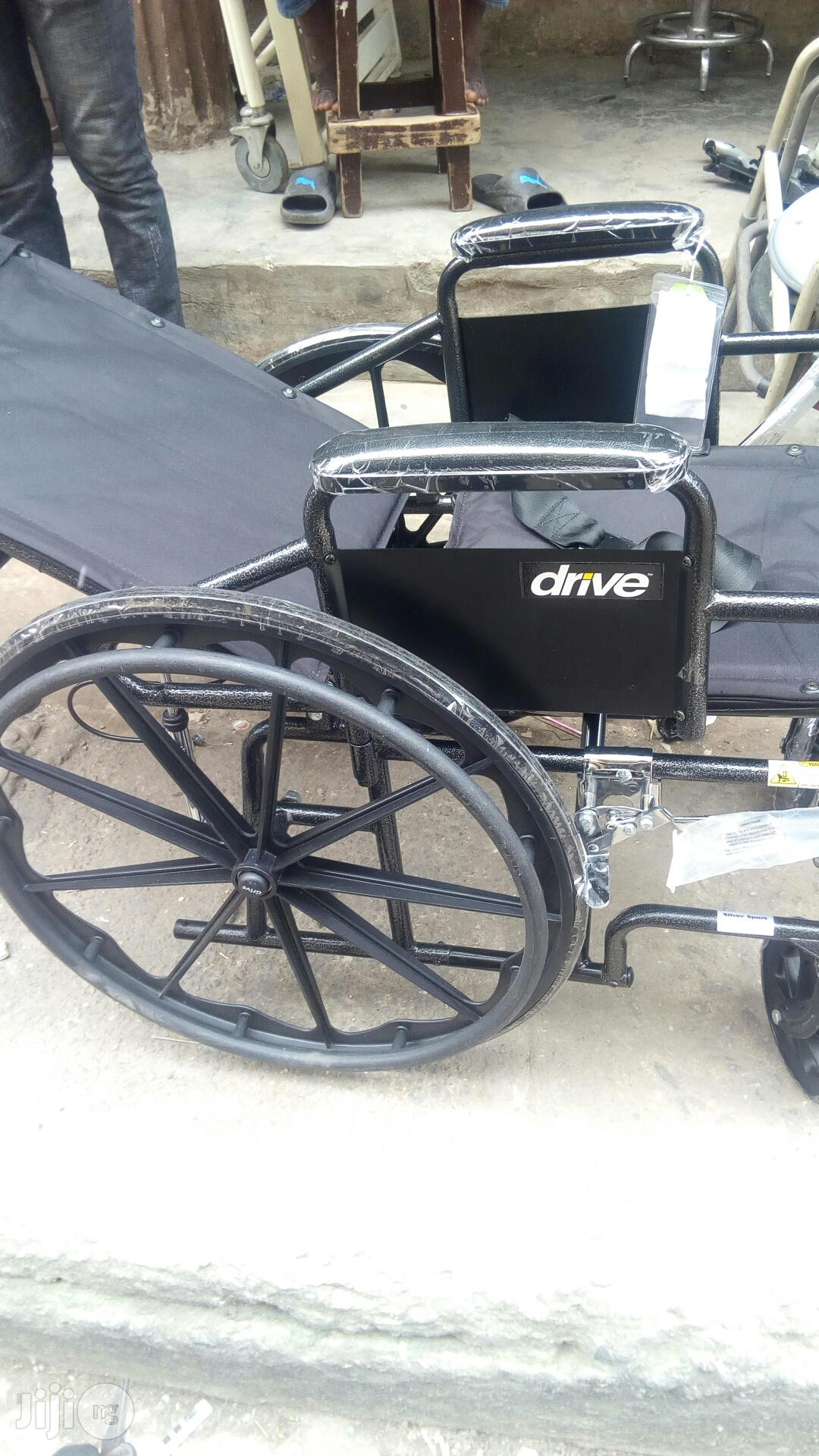 Bed Wheel Chair | Medical Supplies & Equipment for sale in Lekki, Lagos State, Nigeria