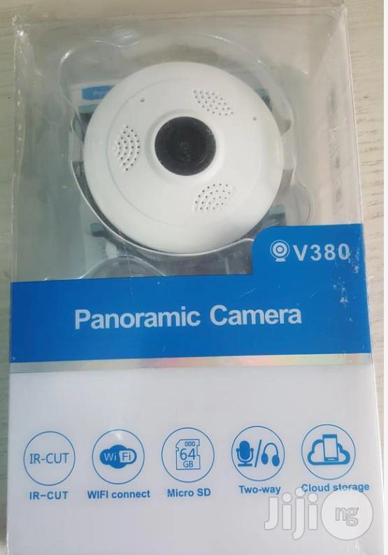 360 Degree Panoramic Camera Wifi Indoor IP Camera Wireless | Security & Surveillance for sale in Ikeja, Lagos State, Nigeria