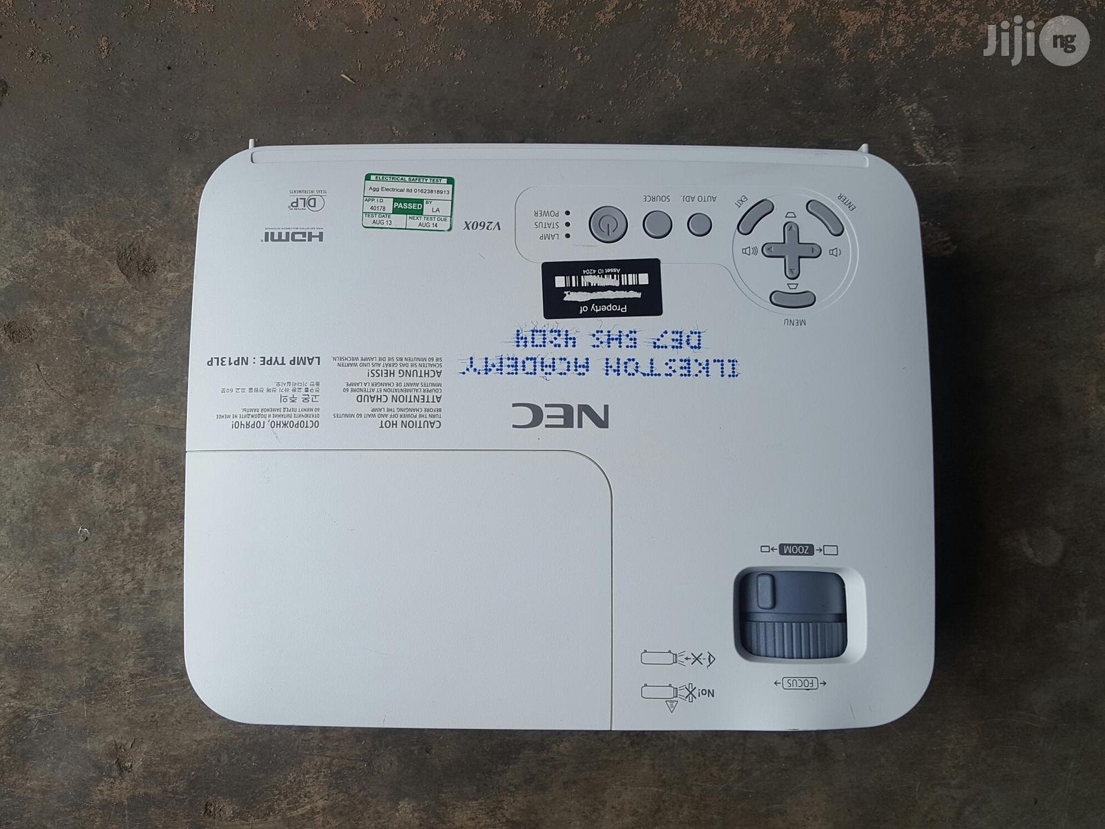 HDMI Nec Projector V260V   TV & DVD Equipment for sale in Ikeja, Lagos State, Nigeria