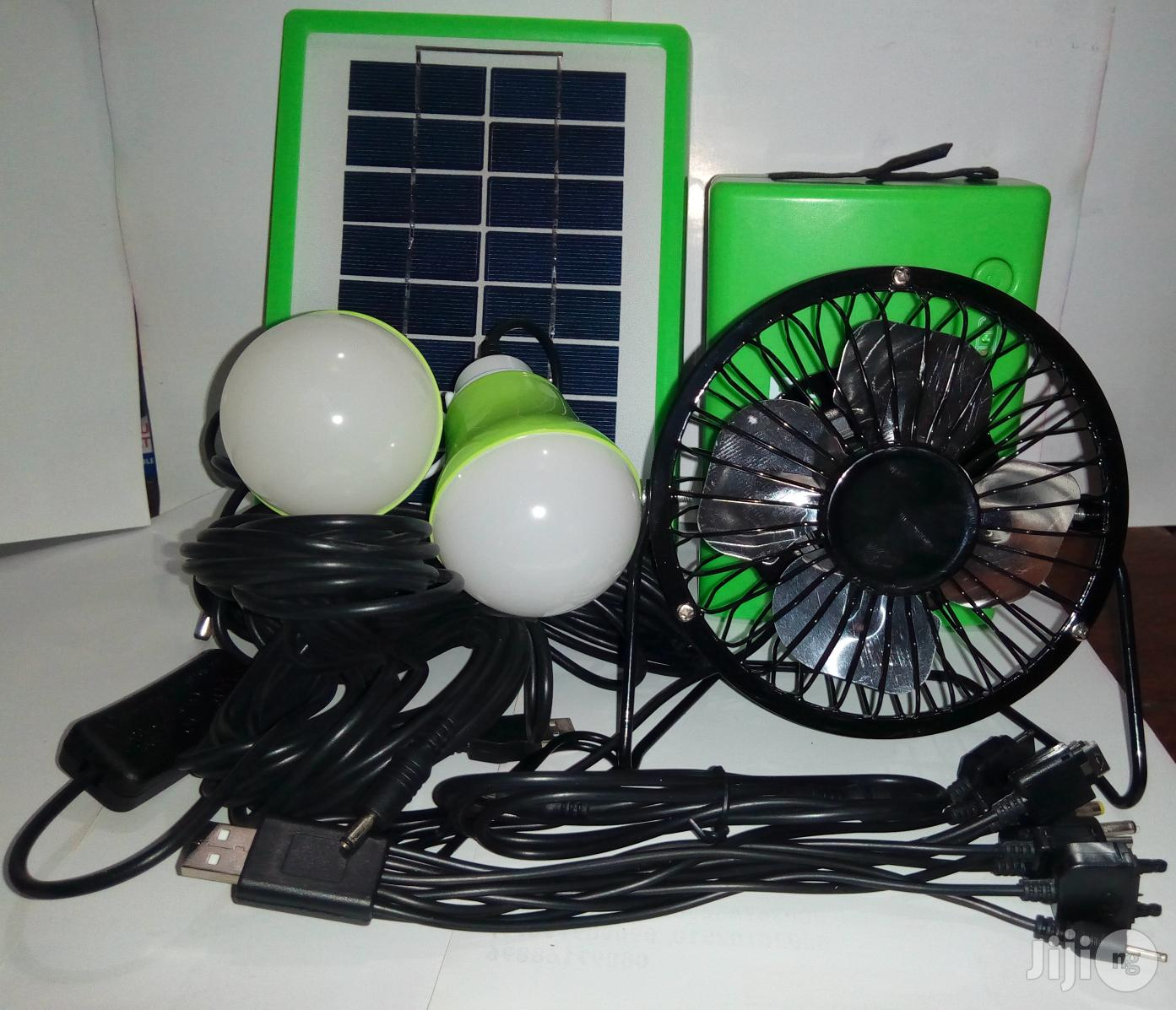 Solar KIT With Fan | Solar Energy for sale in Ojo, Lagos State, Nigeria