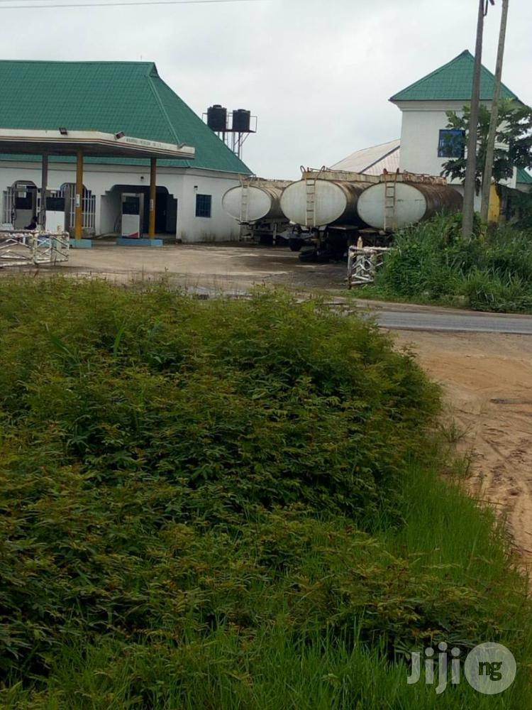 2 Acres With Mega Filling Station At Sapele Area Wori/Benin Road.   Commercial Property For Sale for sale in Sapele, Delta State, Nigeria