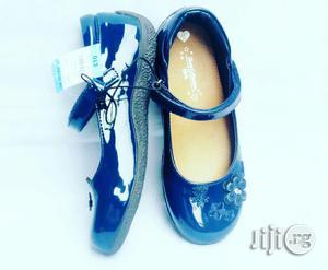 Blue Glossy Leather Shoe for Girls | Children's Shoes for sale in Lagos State, Lagos Island (Eko)