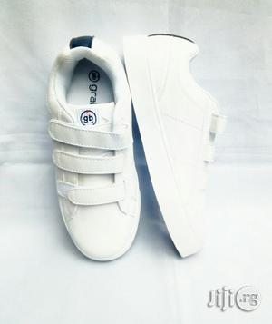 White Canvas for Bigger Kids | Children's Shoes for sale in Lagos State, Lagos Island (Eko)