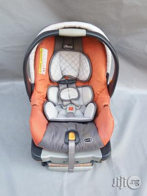 Tokunbo UK Used Chicco Keyfit30 Baby Car Seat From Newborn To 2years (Orange) | Children's Gear & Safety for sale in Lagos State