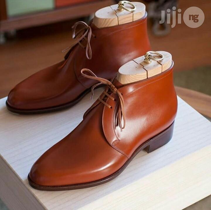 Quality Brown Leather Shoe