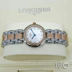 Longines Rose Gold/Silver Chain Watch for Women's   Watches for sale in Lagos State, Lagos Island (Eko)