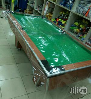 Locally Made Snooker Board With Ball and Sticks | Sports Equipment for sale in Lagos State, Ikeja