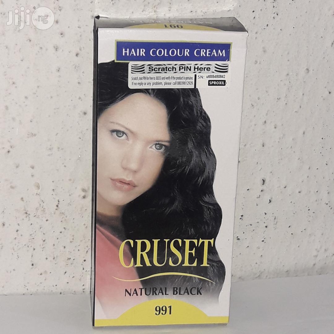 Cruset Hair Colour Cream | Hair Beauty for sale in Ikotun/Igando, Lagos State, Nigeria