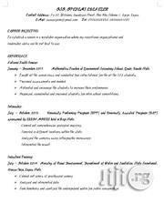 Human Resource Internship | Internship CVs for sale in Lagos State