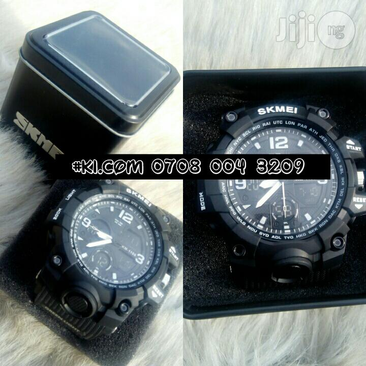 Original Skmei Analog and Digital Display Wrist Watch   Watches for sale in Lagos State, Nigeria