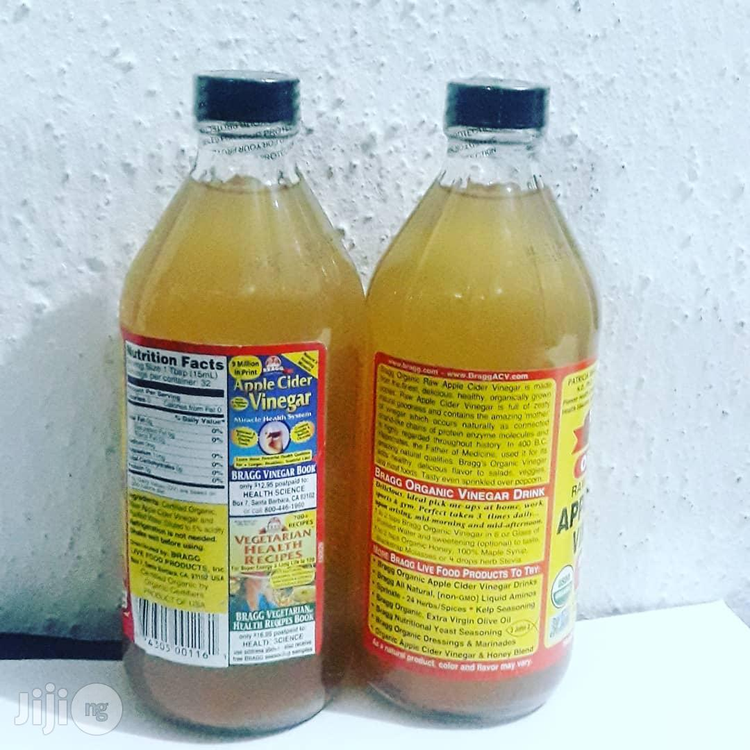 Bragg Organic Raw Unfiltered Apple Cider Vinegar - 473ml | Meals & Drinks for sale in Ikotun/Igando, Lagos State, Nigeria