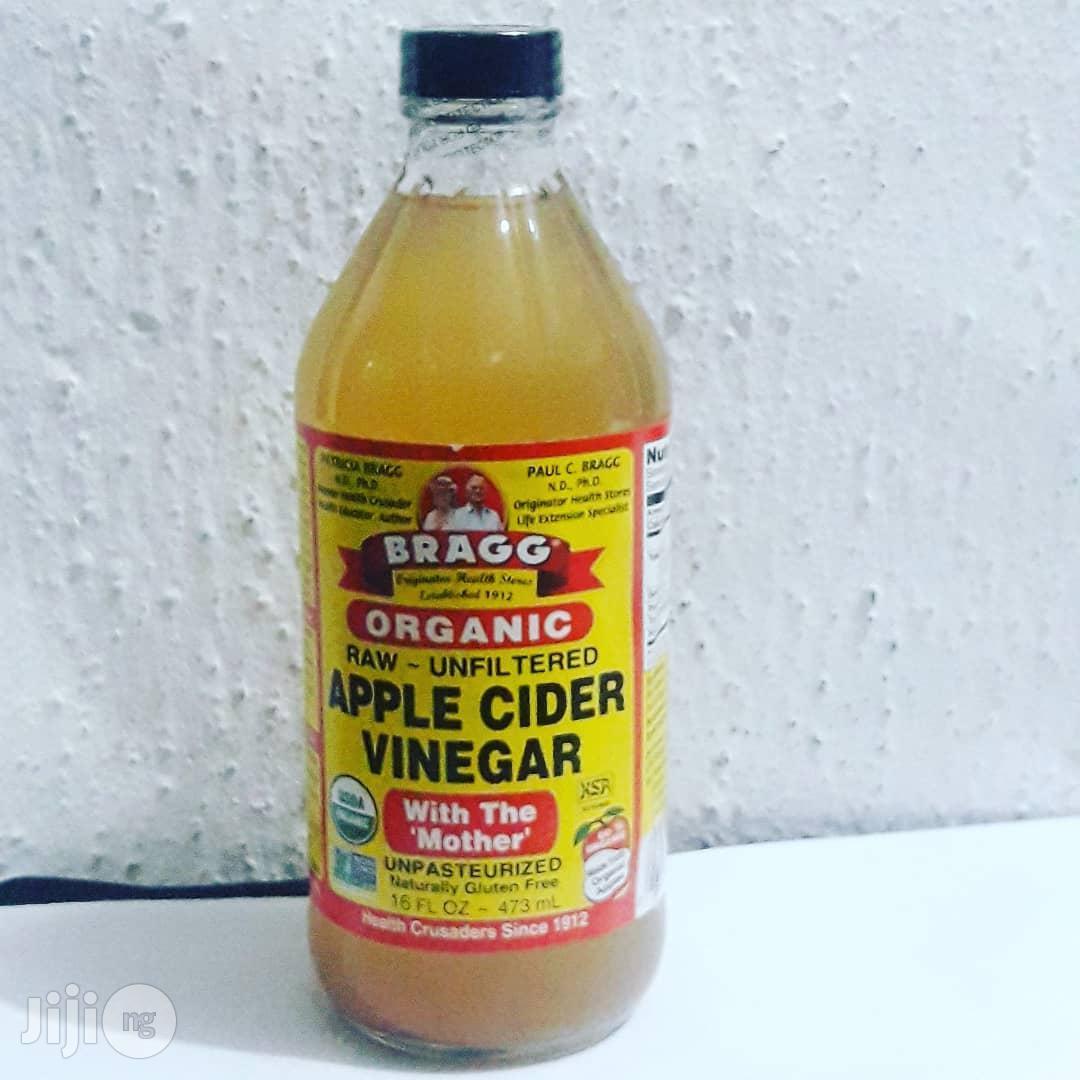 Bragg Organic Raw Unfiltered Apple Cider Vinegar - 473ml