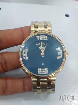Police Watch For Men (Gold) | Watches for sale in Rivers State, Port-Harcourt
