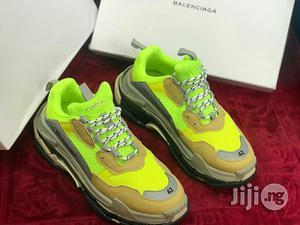 Balenciaga Triple S Sneakers With Lemon