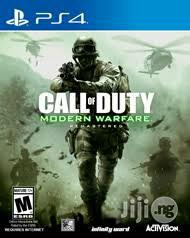 Call Of Duty Modern Warfare Remastered Ps4 | Video Games for sale in Lagos State, Ikeja