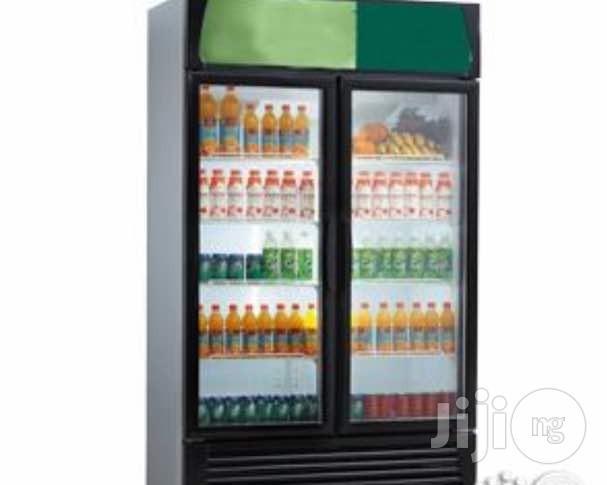 Display Chiller For Drinks Double Door