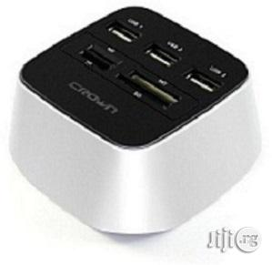 Archive: Crown USB Hub And Card Reader 2.0