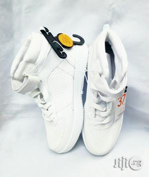 White High Top Canvas | Children's Shoes for sale in Lagos State, Lagos Island (Eko)