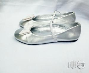 Silver Flat Shoe for Girls   Children's Shoes for sale in Lagos State, Lagos Island (Eko)