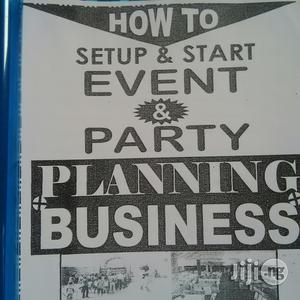 Manual On Event And Party Planning   Books & Games for sale in Rivers State, Port-Harcourt