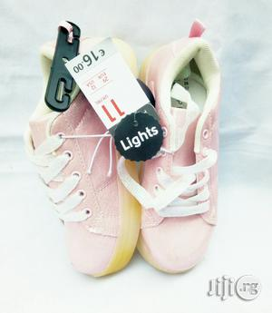 LED Pink Canvas | Children's Shoes for sale in Lagos State, Lagos Island (Eko)
