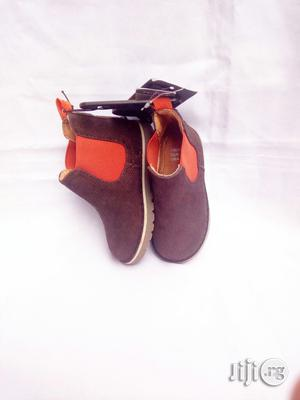 Brown Suede High Top | Children's Shoes for sale in Lagos State, Lagos Island (Eko)