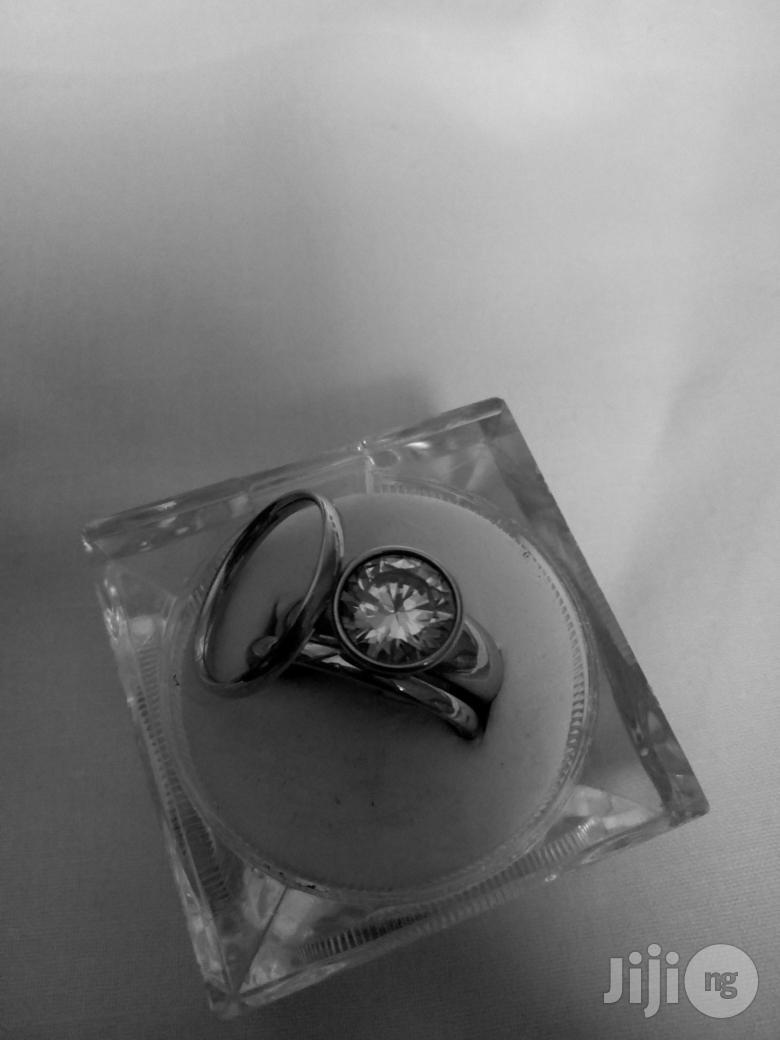 Wedding Ring Set-Silver | Wedding Wear & Accessories for sale in Alimosho, Lagos State, Nigeria