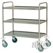 Food Trolley Cart Stainless Steel | Restaurant & Catering Equipment for sale in Lagos State, Gbagada