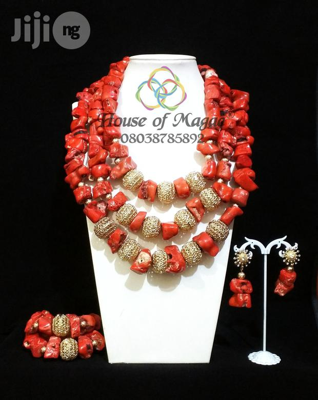 Original Beaded Coral Jewelry