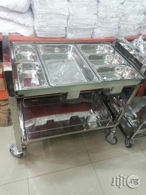 Food & Snack Stainless Trolley | Restaurant & Catering Equipment for sale in Lagos State, Lagos Island (Eko)