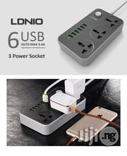 LDNIO 6 USB Smart Charging Hub With 3 ANTI STATIC Power Sockets   Computer Accessories  for sale in Lagos State, Ikeja
