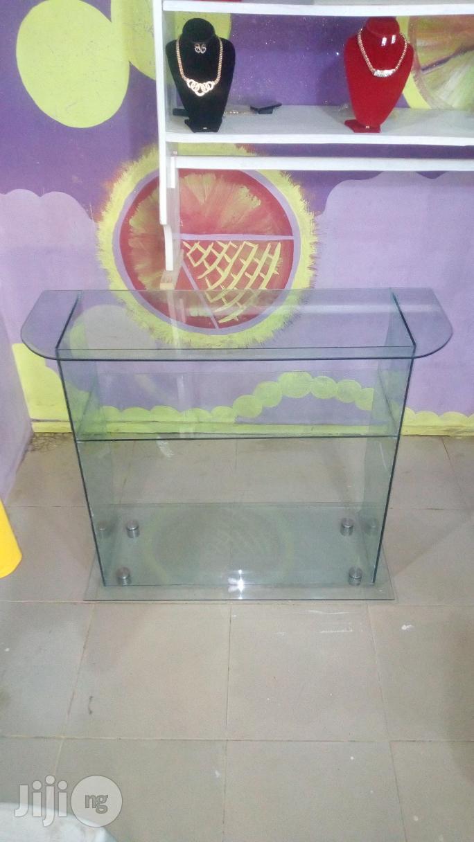 Mini Splendor Glass Office Table | Furniture for sale in Lagos State, Nigeria