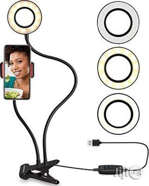 Flexible Selfie Ring Light With Cell Phone Holder   Vehicle Parts & Accessories for sale in Rivers State, Port-Harcourt