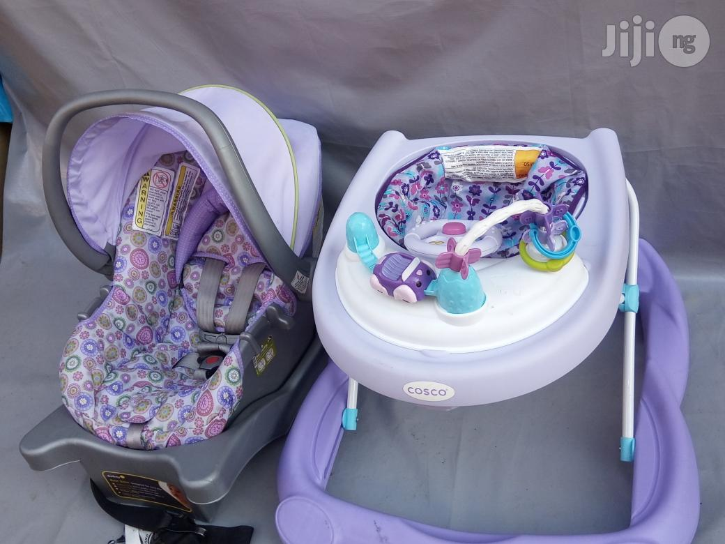 Tokunbo UK Used Baby Car Seat And Baby Walker   Children's Gear & Safety for sale in Lagos State, Nigeria