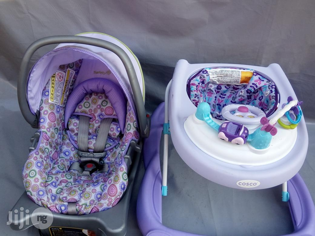 Tokunbo UK Used Baby Car Seat And Baby Walker