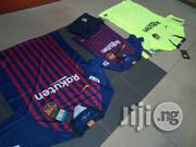 Children Barcelona Jersey | Children's Clothing for sale in Lagos State, Ikeja
