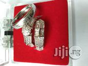 Silver Steel Wedding Ring Set | Wedding Wear for sale in Lagos State