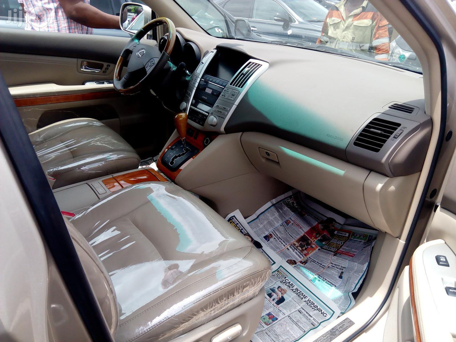 Lexus RX 2009 350 4x4 Gold   Cars for sale in Apapa, Lagos State, Nigeria
