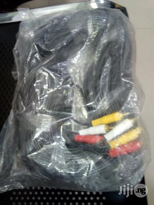 Video/Av 3pin Cable   Accessories & Supplies for Electronics for sale in Lagos State, Ikeja