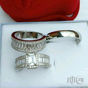 Intallian Silver Wedding Ring | Wedding Wear & Accessories for sale in Lagos State, Victoria Island