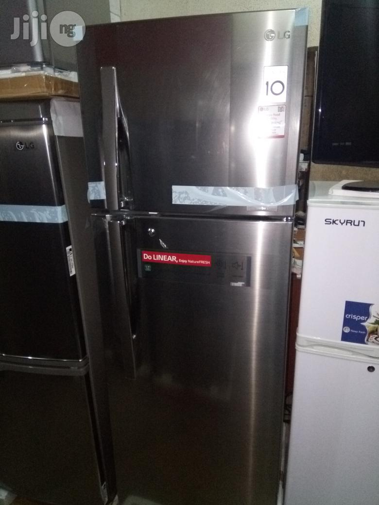 LG Inverter Linear Refrigerator Model Gl292rlbn   Kitchen Appliances for sale in Gwagwalada, Abuja (FCT) State, Nigeria